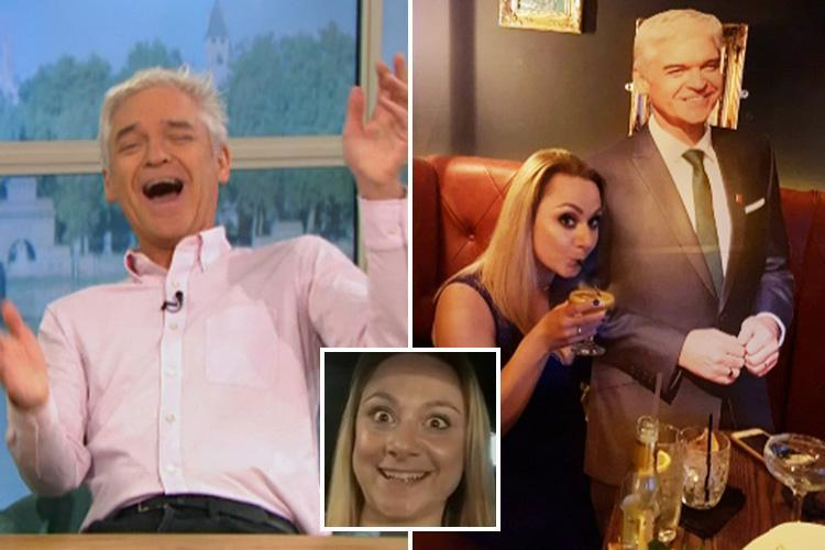 Phillip Schofield gobsmacked when his superfan confesses she'll be wearing incontinence pads for their 'first date'
