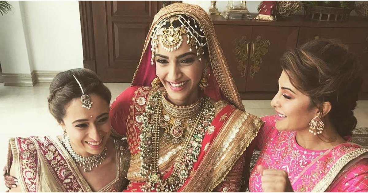 This Bollywood Actress's Wedding Outfit Is So Stunning, It'll Take Your Breath Away