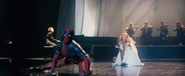 This Britain's Got Talent finalist became Deadpool for that hilarious Celine Dion video