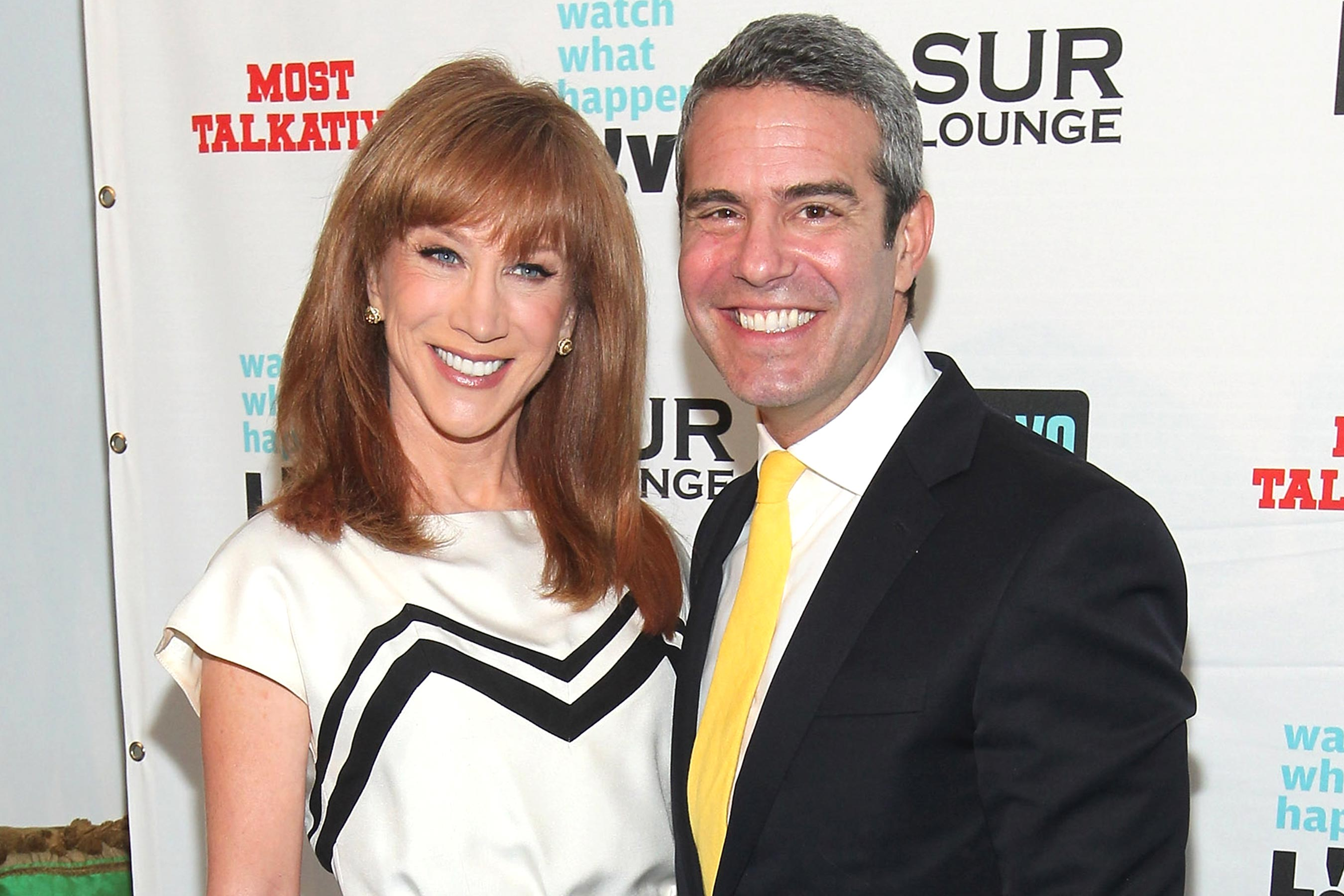 Andy Cohen says he understands why Kathy Griffin hates him