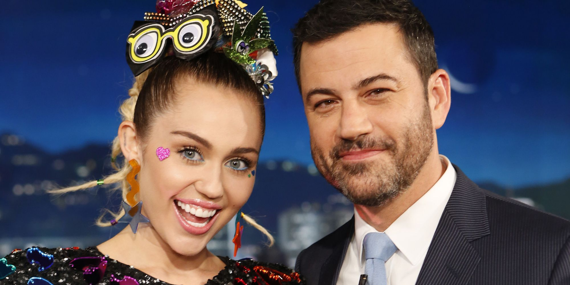 Miley Cyrus Pranked a Sleeping Jimmy Kimmel and Accidentally Hit Him in the Balls in the Process