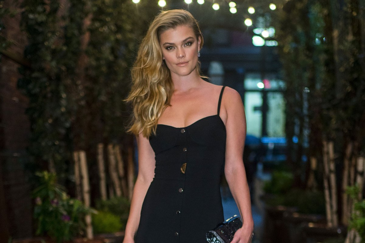 Nina Agdal's Black Midi Dress: Best Similar Styles