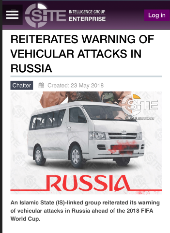 ISIS warlords reveal plans to bring bloodshed to the World Cup by mowing down football fans using minibuses
