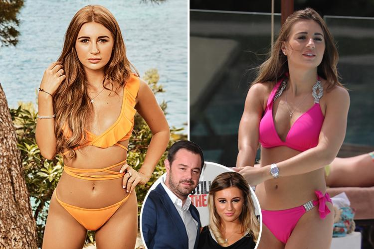 Danny Dyer gives his approval for daughter Dani to have sex on Love Island