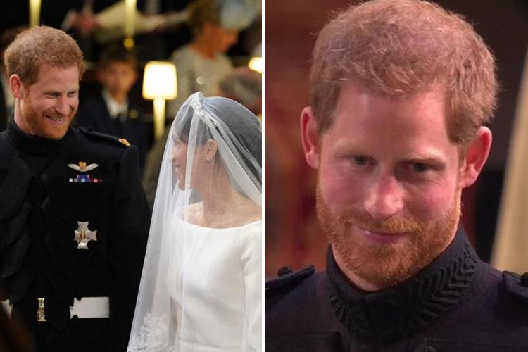 Royal wedding viewers in tears after falling in love with the way Prince Harry looks at Meghan Markle