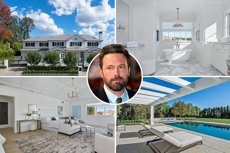 Ben Affleck buys incredible £15million bachelor pad complete with gym, cinema and walk-in wine cellar
