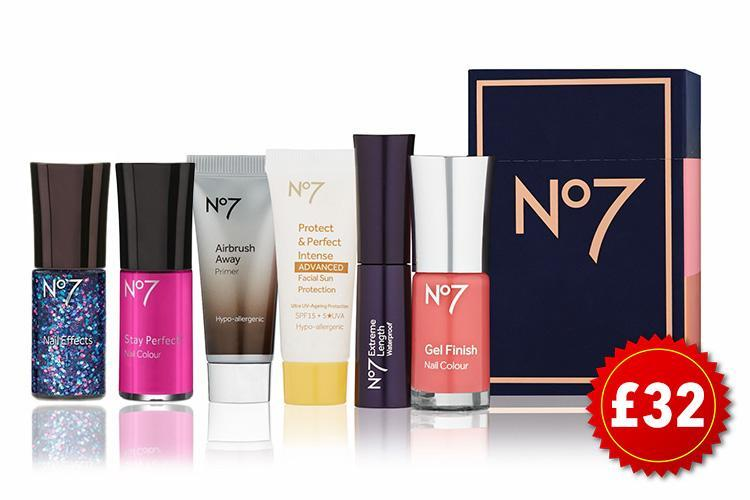 Here's how to get £32 worth of Boots No7 make up for £12