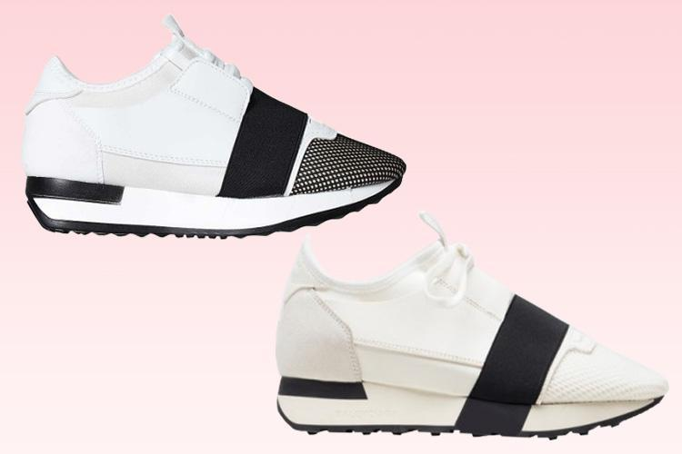 EGO is selling trainers VERY similar to a Balenciaga pair… but £425 cheaper