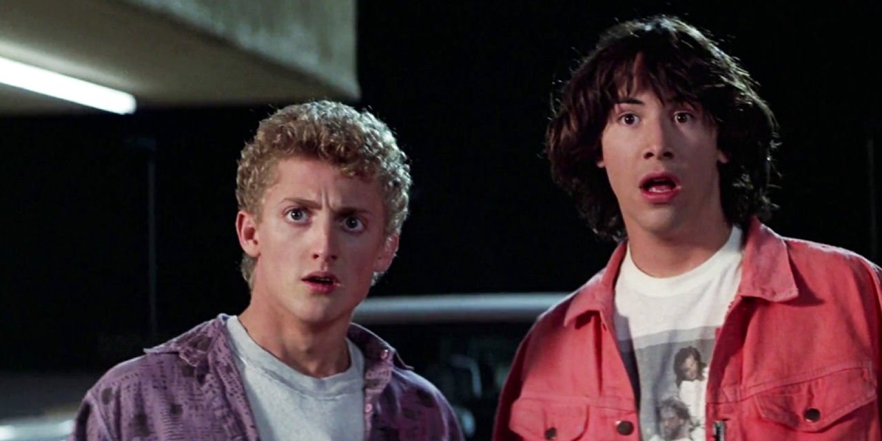 Bill and Ted 3 is officially happening as Keanu Reeves and Alex Winter reunite to Face the Music