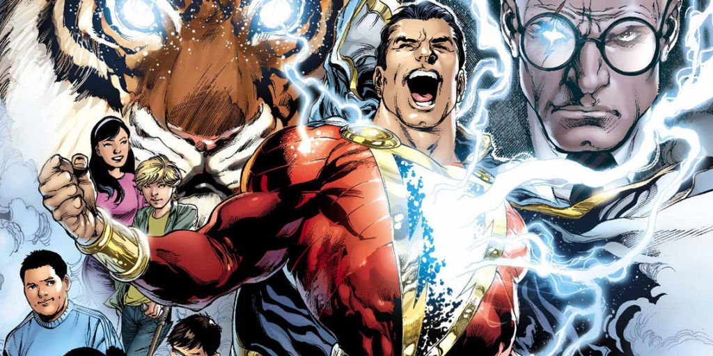 Shazam! director celebrates final day of filming with mysterious cartoon