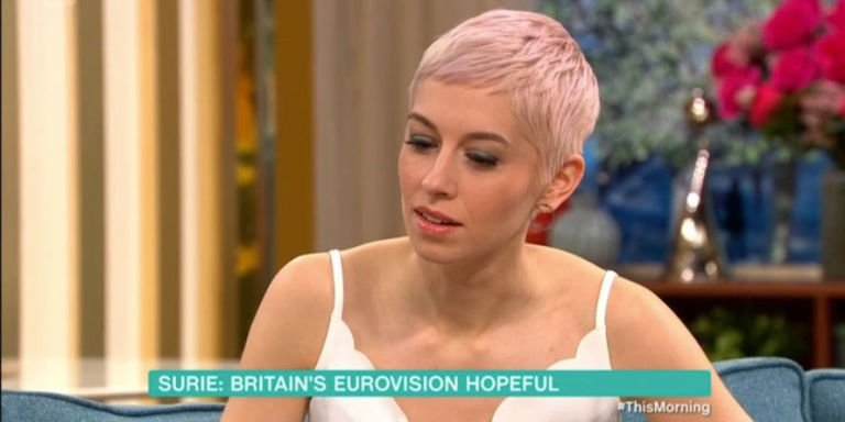 Eurovision 2018's UK entry SuRie awkwardly told her awful odds of winning by Phillip Schofield on This Morning