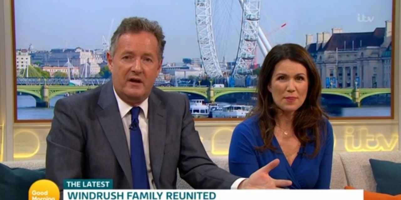 Good Morning Britain moves viewers to tears with heartwarming surprise for Windrush victims