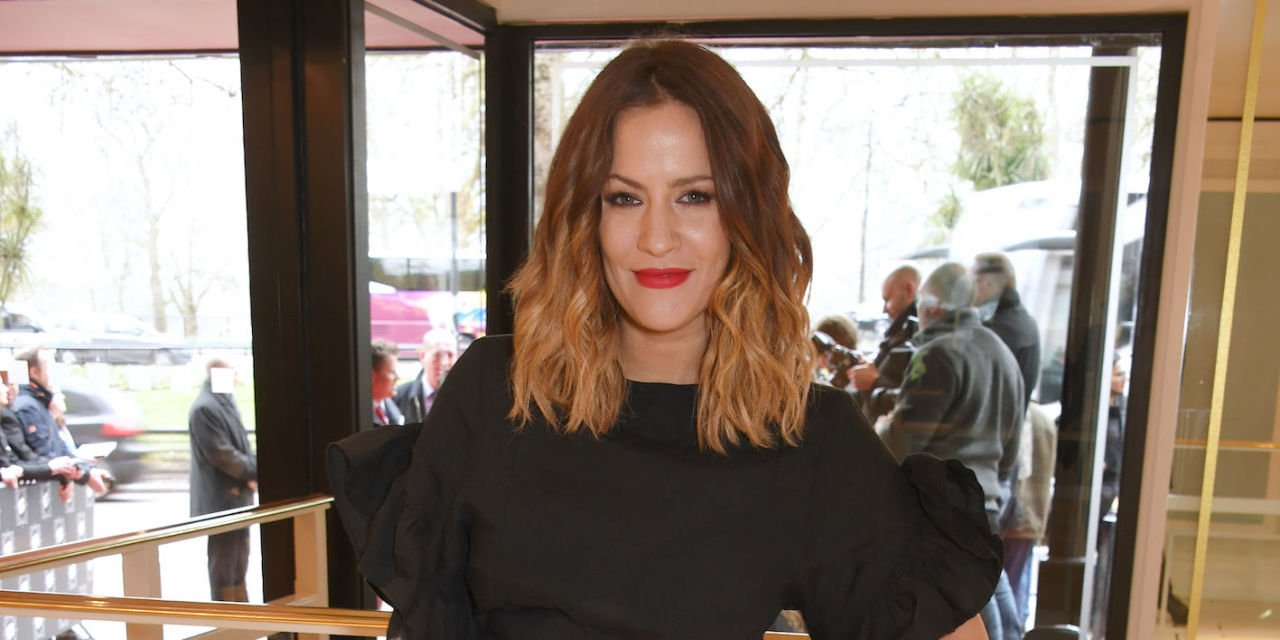 """Love Island's Caroline Flack opens up about """"instant"""" connection with fiancé Andrew Brady"""