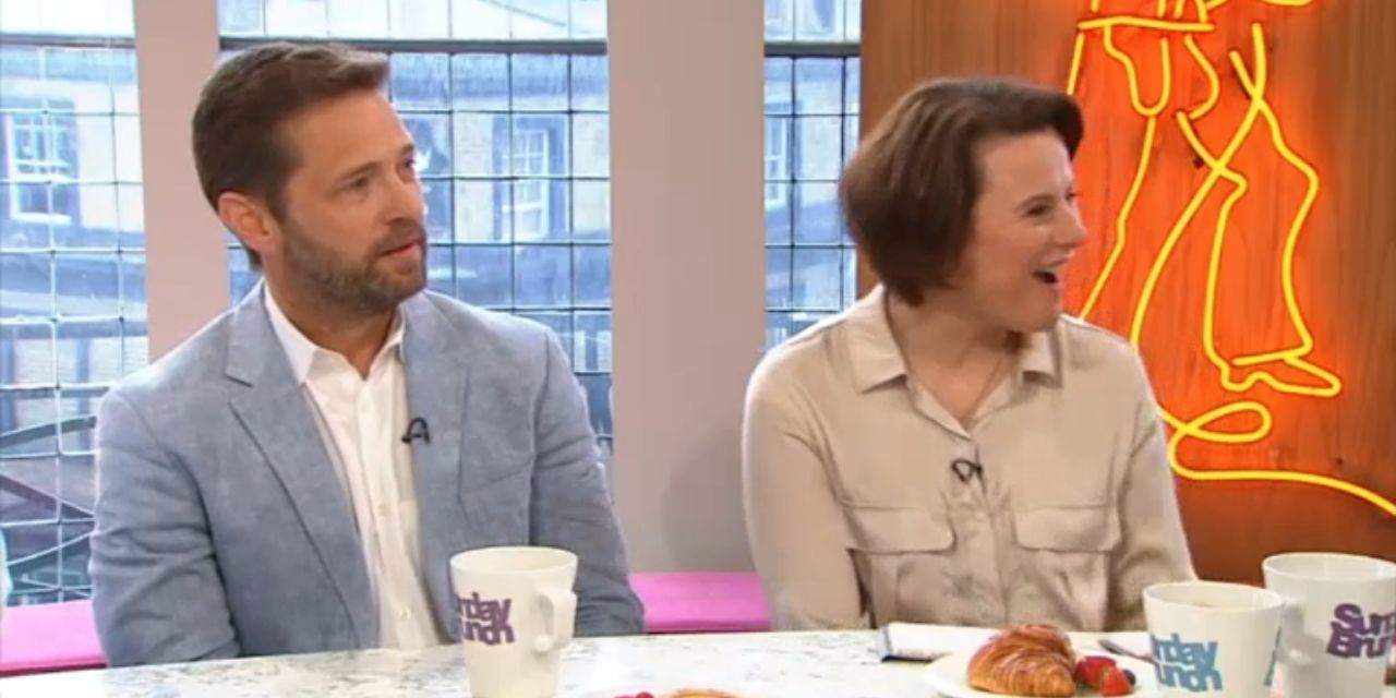 Beverly Hills, 90210's Jason Priestley is completely baffled by Sunday Brunch