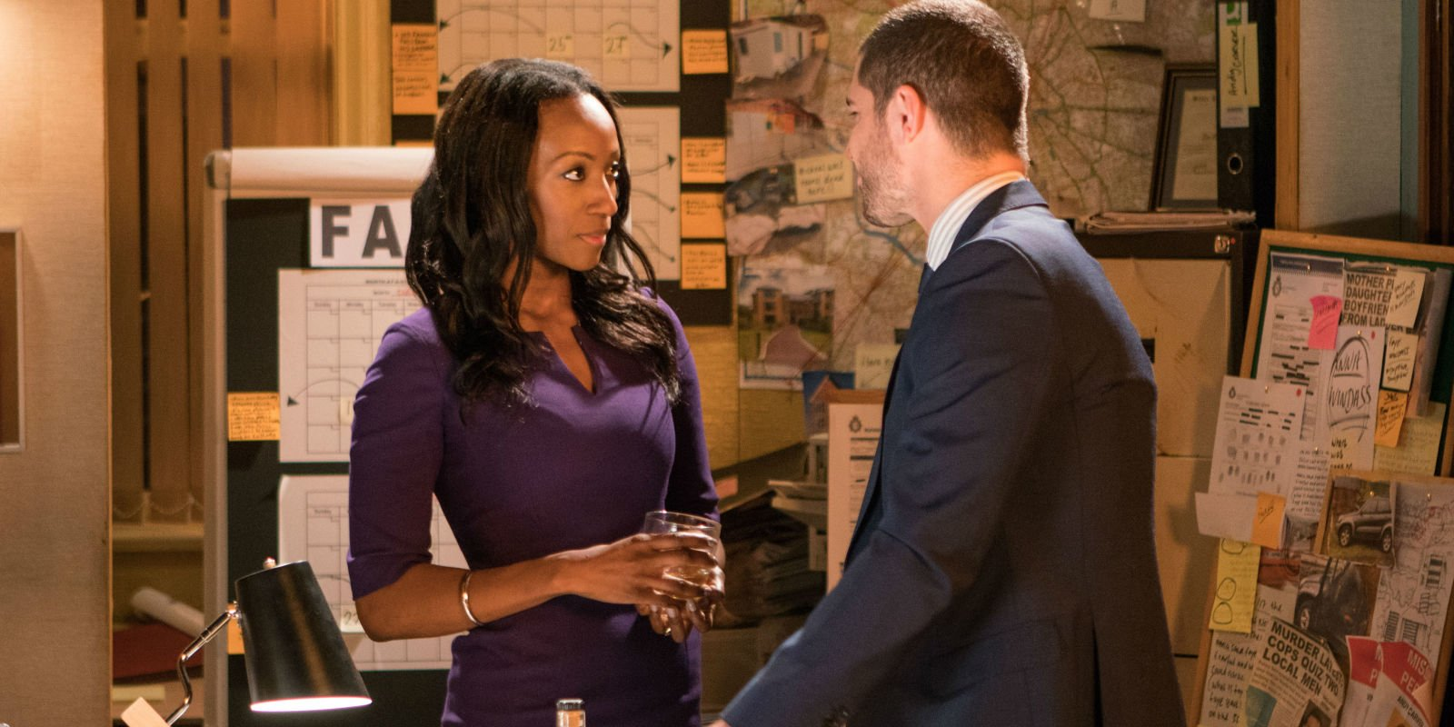 Coronation Street's Victoria Ekanoye is NOT happy with Angie for cheating on Jude