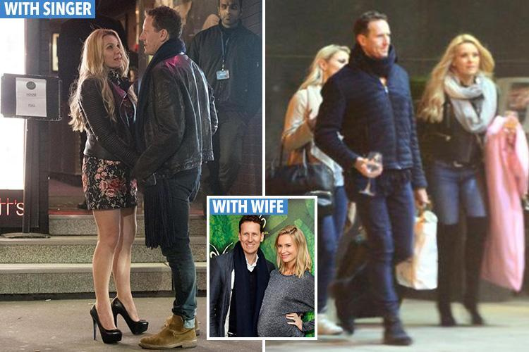 Brendan Cole used cosy chats with backing singer Jenna-Lee James to talk about his marriage woes