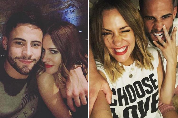 Love Island's Caroline Flack reveals she knew she'd met her Mr Right in Andrew Brady on second day of relationship