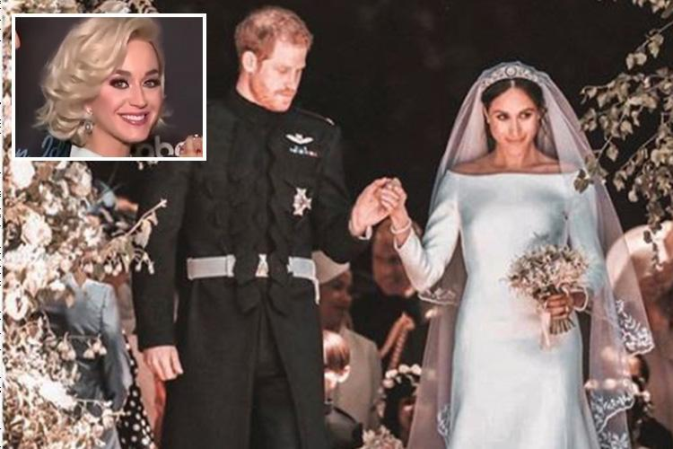 Katy Perry throws shade at Meghan Markle as she says her wedding dress needed 'one more fitting'
