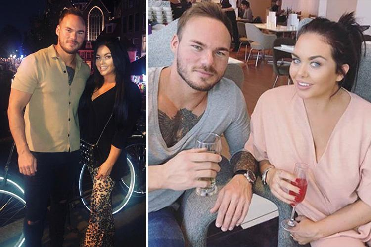 Scarlett Moffatt poses for loved-up pic to prove she's back with 'pathological liar' Lee Wilkinson after hinting he'd cheated on her