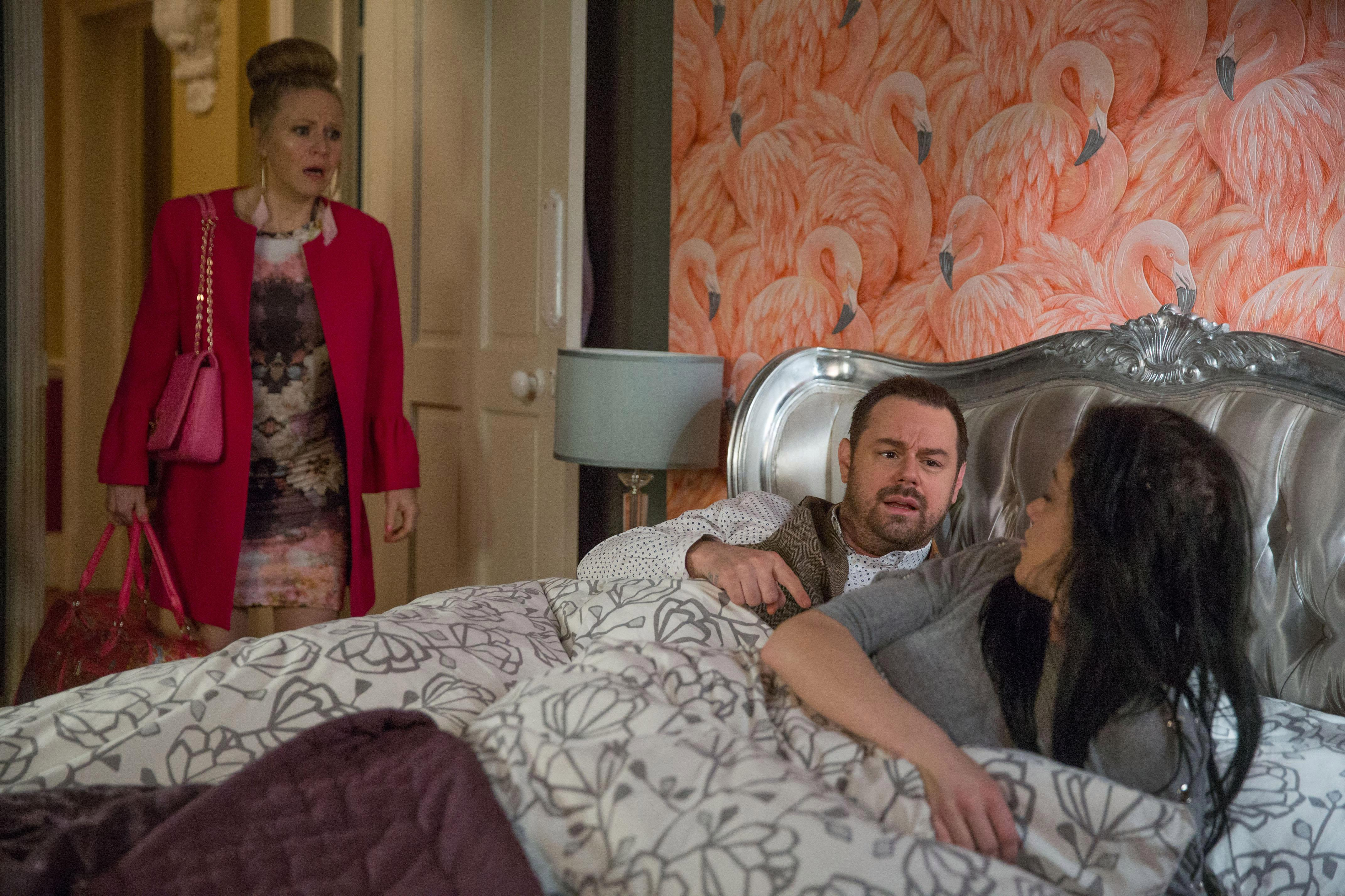 EastEnders spoilers: Linda Carter left furious as she finds Hayley Slater in bed with Mick
