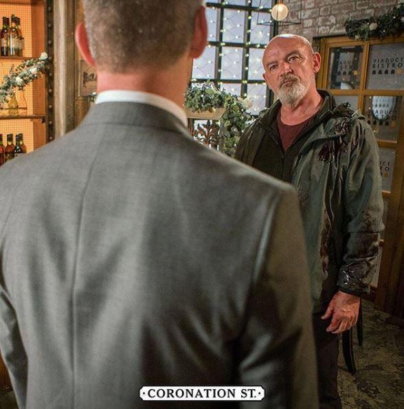 Coronation Street reveals first look at Pat Phelan as he returns to the cobbles to get his revenge