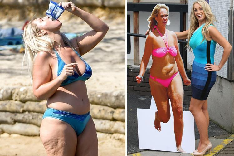 Josie Gibson says she's put on 'two stone of happy fat' after finding love with businessman who has given her body confidence