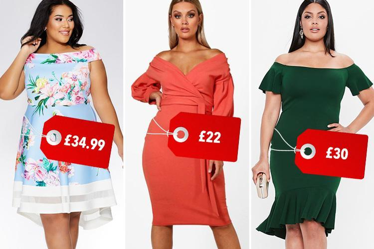 12 plus-size prom dresses under £35 to make you feel like a queen