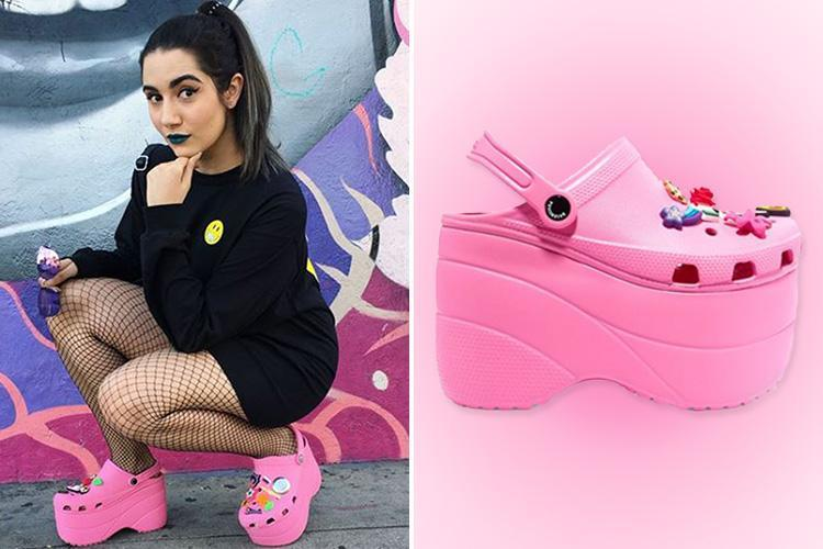YouTuber wears THOSE Balenciaga platform Crocs for a week… with surprising results
