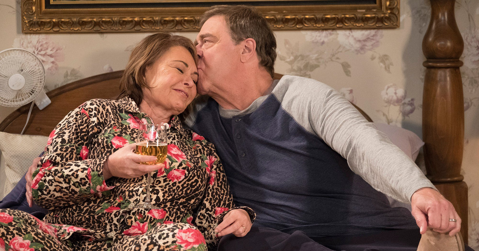 'Roseanne' Finale: Dan and Roseanne Talk About Life After Death