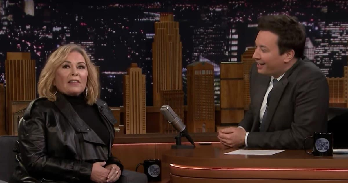 Roseanne Defends Voting for Trump in Jimmy Fallon Interview: 'I Don't Give a F-ck'
