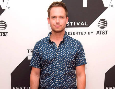 Patrick J. Adams Apologizes After He's Accused of Bullying Body Shamer