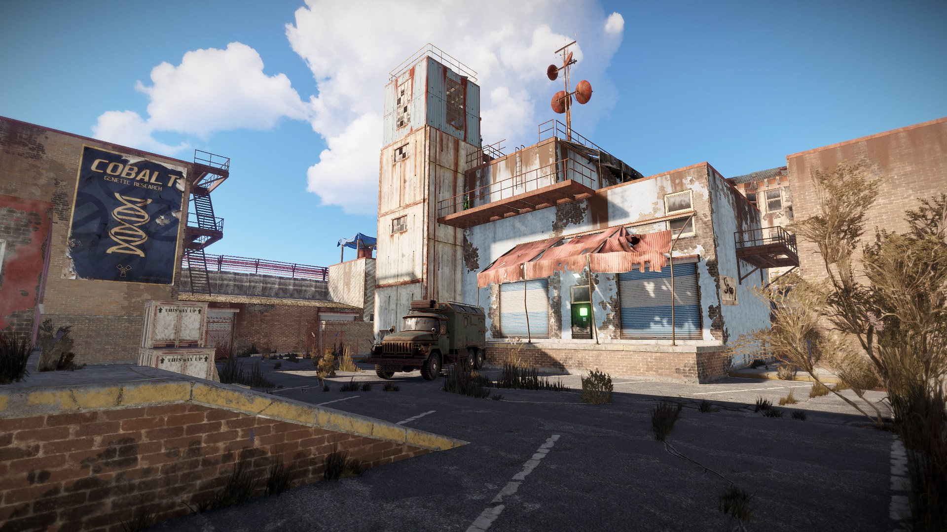 Latest 'Rust' Update Adds a Safe Space and Scuba Diving