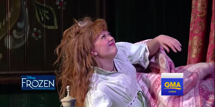 Watch (and Sing Along to!) 'For the First Time in Forever' From Broadway's 'Frozen'!