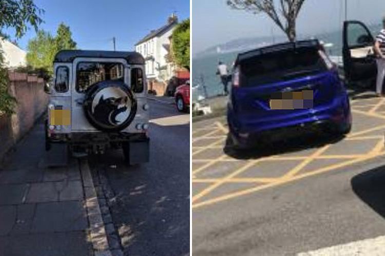 Controversial website lets angry drivers name and shame motorists for dodgy parking and bad driving