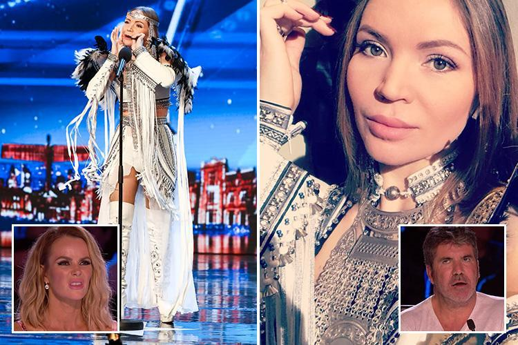 Britain's Got Talent contestant and Russian beauty Olena Utai stuns judges in her audition