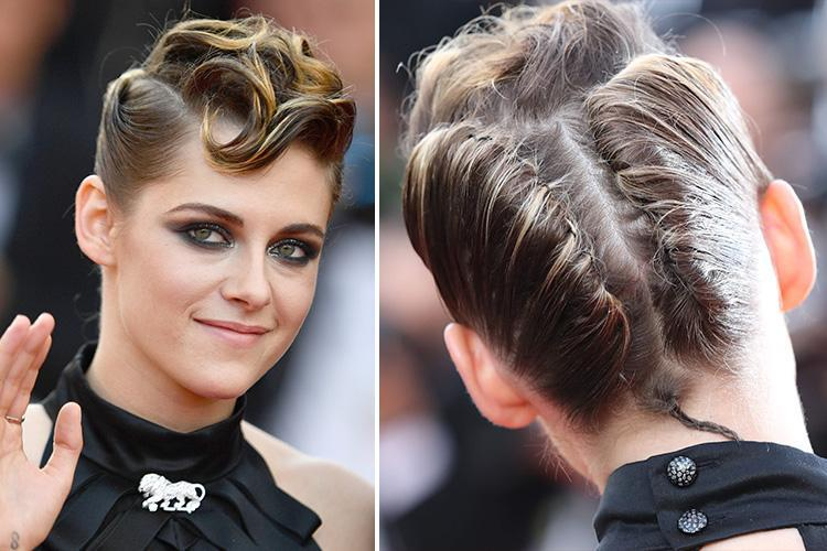 Kristen Stewart reveals bizarre new hairdo as she leads glam A-list arrivals at Cannes Film Festival