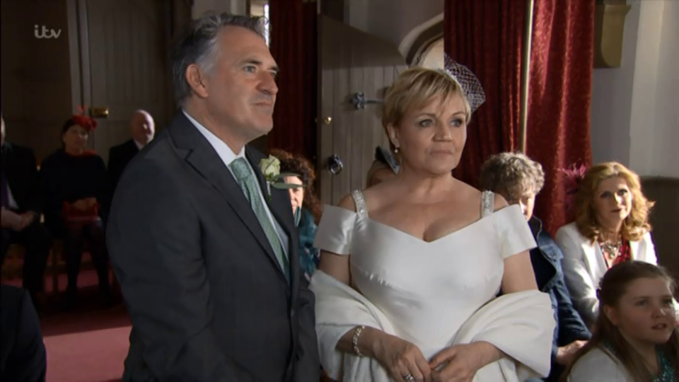 Emmerdale fans furious as ITV announcer says 'poor Bob' at the end of his disastrous wedding episode – despite his CHEATING