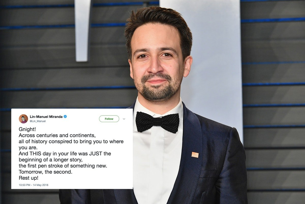 Lin-Manuel Miranda May Release A Book Of Tweets & It's Actually A Better Idea Than It Sounds