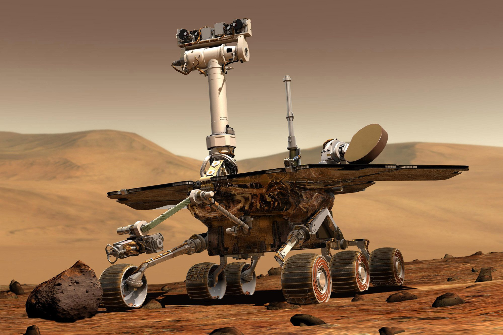 Mars dust storm is pummeling NASA's Opportunity rover