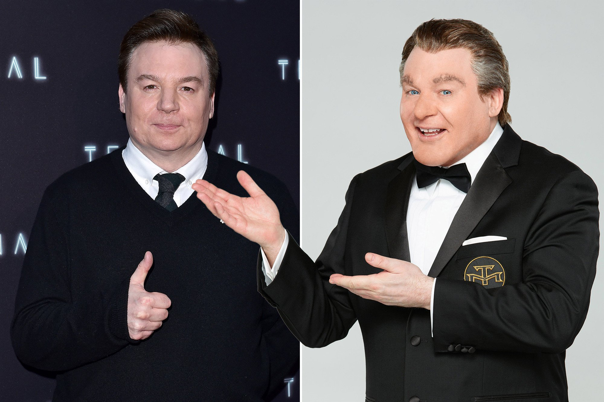 Mike Myers is back as Tommy Maitland in 'The Gong Show'