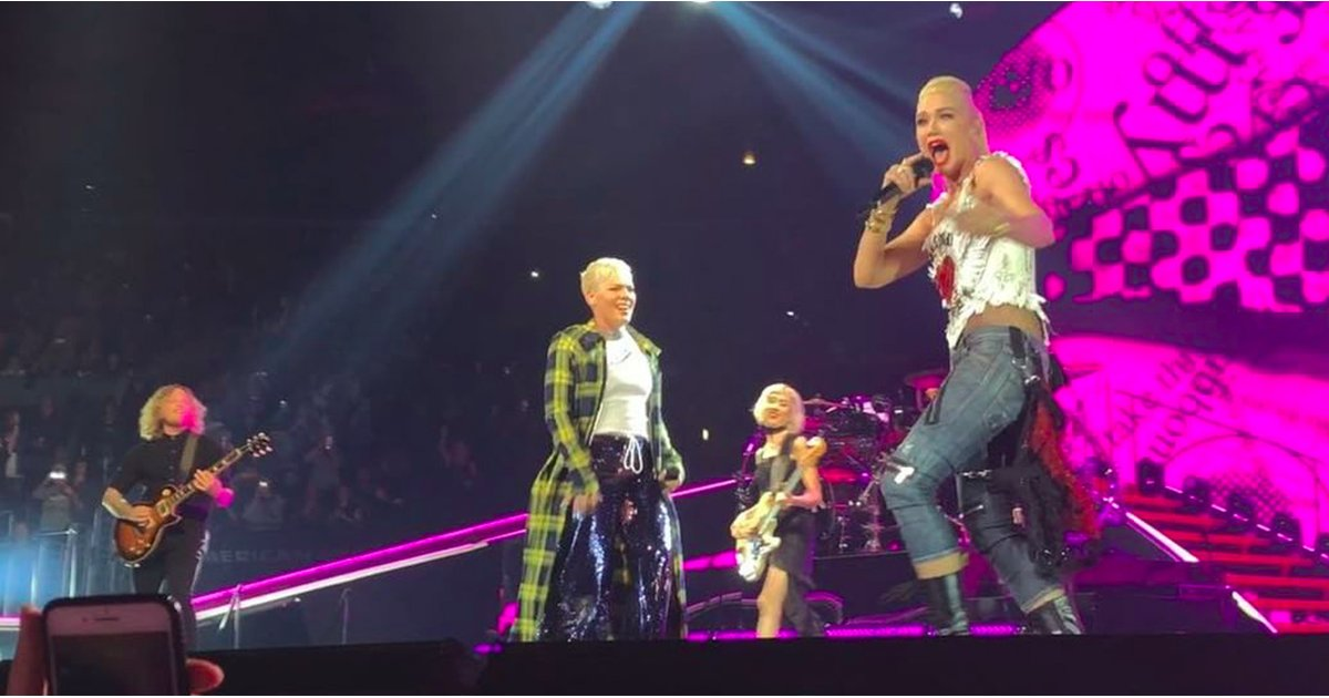 """Pink and Gwen Stefani Performed """"Just a Girl,"""" and Our '90s Hearts Are Exploding"""