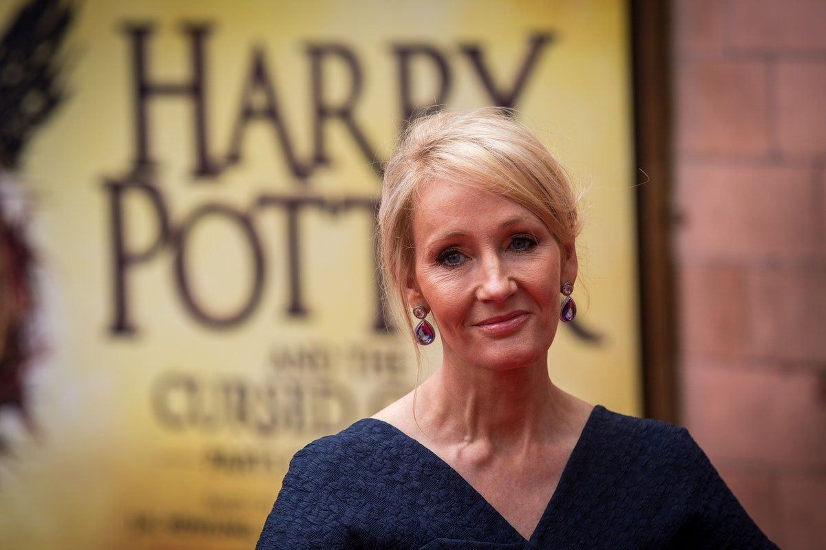 J.K. Rowling Is Planning Her First Kids' Book Since Harry Potter