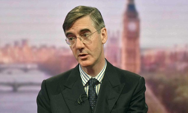 Pipe down, Jacob Rees-Mogg, you are making Britain look weak