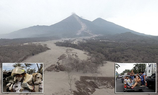 Guatemalan authorities 'told to evacuate SEVEN HOURS before eruption'