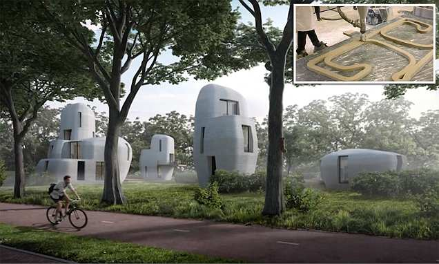 Dutch city to become first in the world to build 3D printed houses