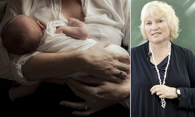 LIBBY PURVES shared her thoughts on breastfeeding in the workplace