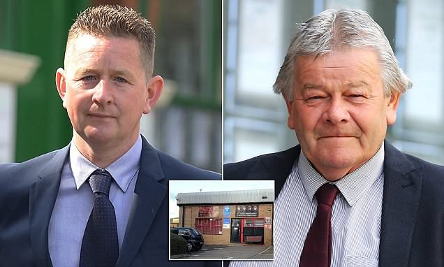 Father and son who opened fire on police cleared of attempted murder