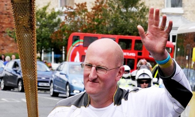 Former Olympic torchbearer, 53, exposed as a paedophile