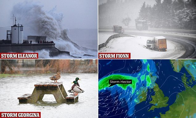 'Danger to life' storm with flying debris will smash Britain TOMORROW