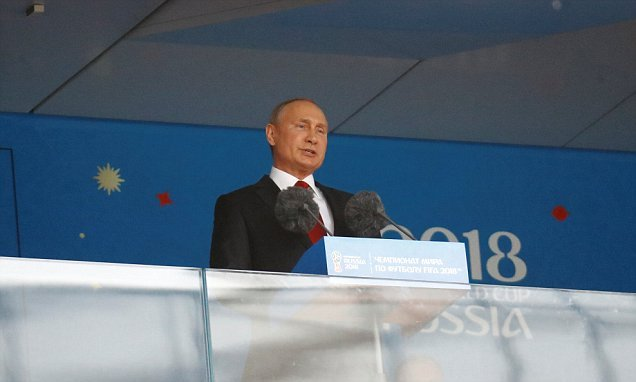 Putin welcomes world to an 'open, hospitable and friendly' Russia